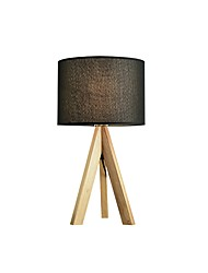 cheap -Simple Wooden Table Lamp Fabric Shade Desk Lights Modern Contemporary New Design Lampshade For Indoor / Study Room / Office Wood