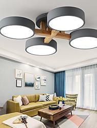 cheap -4-Light Ceiling Light 4 Lights Chandeliers Nordic Simple Pendant Light Fixture Flush Mount Minimalist Ceiling Lamp Living Room