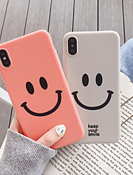 cheap -Case For Apple iPhone XS / iPhone XS Max / iPhone 8 Plus Dustproof / Pattern Back Cover Cartoon TPU