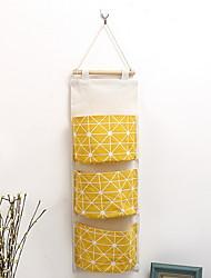 Недорогие -Сумка для хранения Нейлон Многослойный Аксессуар 1 сумка для хранения Сумки для хранения домашних хозяйств