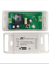 Недорогие -Переключатель Wi-Fi / AC220V 1ch 10a реле приемник / светодиод / лампа / управление питанием / переключатель управления мобильное приложение