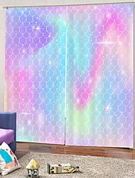 cheap -European 3D Digital Printing Curtain Simple Design Blackout 100%Polyester Curtain for Bedroom Living Room