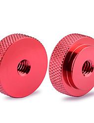 Недорогие -Camvate 2 шт. 1 / 4-20 адаптер большого пальца контргайки женского колеса (диаметр 25 мм) c1490