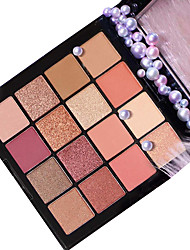 cheap -16 Colors Eyeshadow Matte EyeShadow Pro Easy to Use Professional Daily Makeup Cosmetic Gift