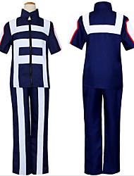 abordables -Inspiré par Assassin Marisa Kirisame / Midoriya Izuku Manga Costumes de Cosplay Japonais Costumes Cosplay Pour Homme
