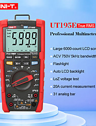 cheap -UNI-T UT195E Digital Multimeter Auto Range True rms AC DC Current Voltage with LoZ ACV Duty ratio 2M drop proof