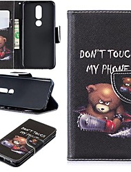 cheap -Case For Nokia 4.2/Nokia 3.2 Magnetic / Flip / with Stand Full Body Cases Word / Phrase Hard PU Leather for Nokia 1 Plus/Nokia 2/Nokia 2.1/Nokia 3.1/Nokia 5.1/Nokia 7.1/Nokia 8/Nokia 6