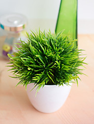 cheap -1Pc 32-Eye Phoenix Bonsai Simulation Plant Decoration Flower Ball Grass Ball Potted Home Decoration Small Ornaments Living Room Dining Room Decoration Simulation Fake Flower Decoration