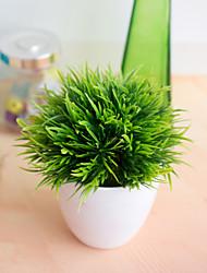 abordables -1 pc 32 œil phénix bonsaï simulation plante décoration fleur boule herbe balle en pot décoration maison petits ornements salon salle à manger décoration simulation faux fleur décoration