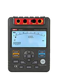 Недорогие -мегомметр uni-t ut511 1000 В с заземлением заземлитель тестер с низким сопротивлением мегомметр диагностический инструмент для хранения данных автоматический измеритель диапазона