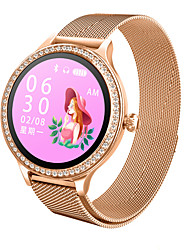 cheap -M8 Women's Watch Smart Watch IP68 Waterproof Lady Smart Heart Rate Monitor Fitness Tracker Health Bracelet