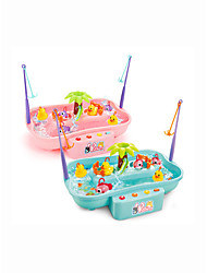 Недорогие -Рыболовные игрушки Вращающаяся Рыбалка Игрушка Взаимодействие родителей и детей 2 игрока Акрил Пластиковый корпус Детские Взрослые Игрушки Подарок