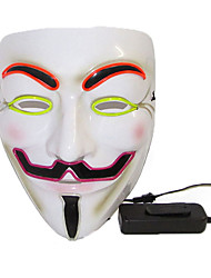cheap -Mask Halloween Mask Inspired by Jason Scary Movie White Halloween Carnival Adults' Men's Women's