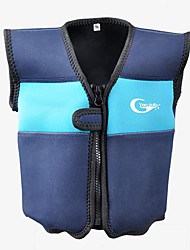 cheap -YON SUB Life Jacket Protective Polyester Swimming Diving Snorkeling Top for Kids / Athleisure / Solid Colored