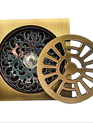 cheap -Drain Premium Design / Cool Modern Brass 1pc Floor Mounted