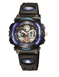 cheap -Dress Watch Silicone Digital Blue Black