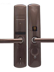 cheap -High-end Slider Fingerprint Home Security Card Door Lock