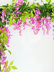 Недорогие -Искусственные цветы Современный современный Цветы на стену 1