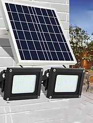Недорогие -1шт 20 W Свет газонные / Светодиодный уличный фонарь / Солнечный свет стены Водонепроницаемый / Работает от солнечной энергии / Монитор обнаружения движения Белый 5.5 V / 7 V