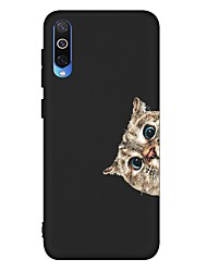 cheap -Case For Samsung Galaxy A6 (2018) / A6+ (2018) / Galaxy A7(2018) Shockproof / Frosted / Pattern Back Cover Cat TPU