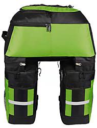 abordables -FJQXZ 70 L Sac de Porte-Bagage / Double Sacoche de Vélo Sacs de Porte-Bagage 3 en 1 Grande Capacité Etanche Sac de Vélo 1680D Polyester Sac de Cyclisme Sacoche de Vélo Cyclisme / Vélo