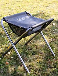 cheap -Camping Stool Tri-Leg Stool Portable Anti-Slip Foldable Comfortable Aluminum Alloy Oxford for 1 person Camping Camping / Hiking / Caving Traveling Picnic Autumn / Fall Spring Grey
