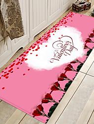 cheap -Romantic Non-Slip Lovely Heart Pattern Mat for Dining Room Wedding Room Decoration