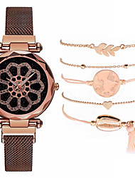 cheap -Women's Quartz Watches New Arrival Elegant Black Blue Silver Stainless Steel Chinese Quartz Red Purple Rose Gold Chronograph Cute New Design 1 set Analog One Year Battery Life