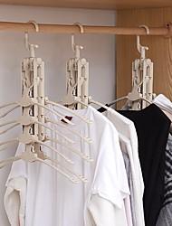 cheap -Plastic Multi-function / Foldable / Multilayer Pants / Clothing / Underwear Hanger, 1pc