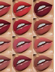 cheap -Evpct Retro Beautiful Metal Pointed Lipstick Waterproof Long-Lasting Matte Lipstick