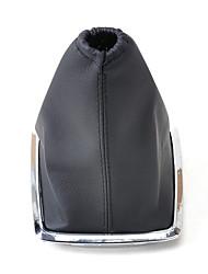 cheap -Black PU Leather Gear Boot Gaiter Cover for 2005-2012 Ford Focus