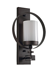 Недорогие -современный простой настенный бра современный современный / простой скрытый настенный светильник / настенный светильник&усилитель; бра магазины / кафе / столовая металлический настенный светильник