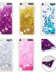cheap -Case For Apple iPhone XS / iPhone XR / iPhone XS Max Shockproof / Dustproof / Flowing Liquid Back Cover 3D Cartoon / Glitter Shine Soft TPU
