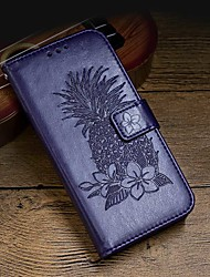 cheap -Case For Samsung Galaxy S9 / S9 Plus / S8 Plus Wallet / Card Holder / Shockproof Full Body Cases Solid Colored Hard PU Leather