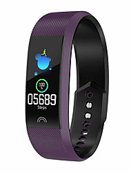 cheap -Smartwatch Digital Modern Style Sporty Silicone 30 m Water Resistant / Waterproof Heart Rate Monitor Bluetooth Digital Casual Outdoor - Green Purple Red
