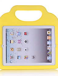 cheap -Case For Apple iPad New Air(2019) / iPad Air / iPad (2018) Shockproof / Child Safe Back Cover Solid Colored / 3D Cartoon EVA / iPad (2017)