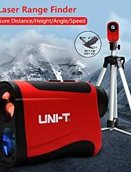 Недорогие -лазерный дальномер uni-t lm1000 дальномер телескоп 1000 м лазерный дальномер уголомер измерительные инструменты