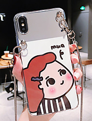 cheap -Case For Apple iPhone XS / iPhone XR / iPhone XS Max Dustproof / IMD / Pattern Back Cover Cartoon PC