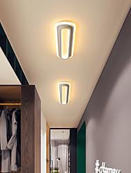 cheap -1-Light 12 cm Flush Mount Lights Metal Acrylic Island Painted Finishes LED Modern 110-120V 220-240V