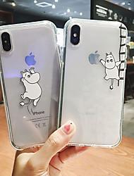cheap -Case For Apple iPhone 11 / iPhone 11 Pro / iPhone 11 Pro Max Transparent / Pattern Pouch Bag Cartoon Soft Plastics
