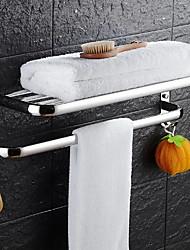 cheap -Bathroom Shelf Creative Contemporary Stainless Steel 1pc - Bathroom Wall Mounted