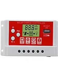 cheap -30A 12V/24V Solar Panel Battery Regulator Charging Controller 3-Stage PWM LCD