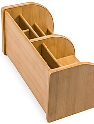 cheap -Wooden Creative Home Organization, 2pcs Pen Holders & Cases