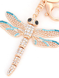 cheap -Keychain 1 pcs Dragonfly Key Chain Creative Metal For Adults' Boys' Girls' Birthday / 14 Years & Up
