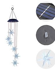 Недорогие -0,75м Гирлянды 6 светодиоды Поменять Водонепроницаемый / Работает от солнечной энергии / Творчество Солнечная энергия 1 комплект / IP44