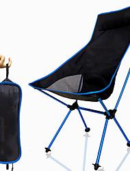 Недорогие -Складное туристическое кресло Высокая спина с подголовником Дышащий Ультралегкий (UL) Складной Компактный Сетка 7075 Алюминиевый сплав для 1 человек Рыбалка Пешеходный туризм Походы Осень Весна