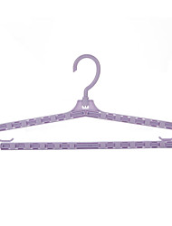 cheap -Plastic Wet / Dry Clothing Hanger, 1pc