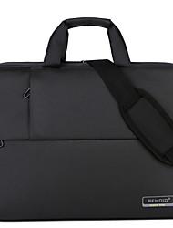 cheap -Nylon Zipper Laptop Bag Solid Color Daily Purple / Brown / Navy Blue