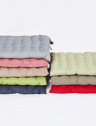 cheap -1 pcs Cotton / Linen Pillow Cover & Insert, Solid Colored Textured Simple Pastoral Throw Pillow