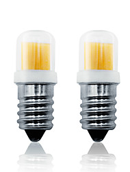 cheap -2 Pack E14 LED Light Bulb 4W 300LM AC110-130V 200-240V Dimming COB LED Lamp White/Warm White